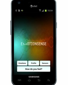 The app aims to combine phone data with perceived emotions