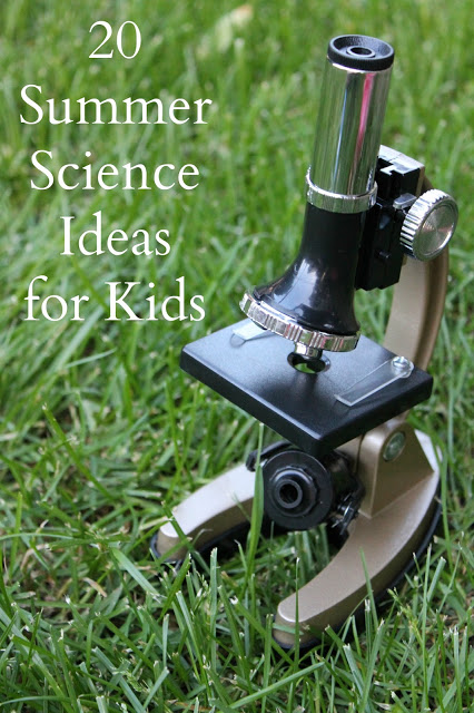 http://www.readingconfetti.com/2013/06/20-summer-science-ideas-kids-co-op.html