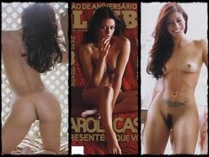 Carol Castro na Playboy de agosto de 2008