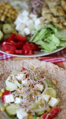 Razowa Tortilla Z Sezamem Zdrowe Przepisy Pauliny Stys