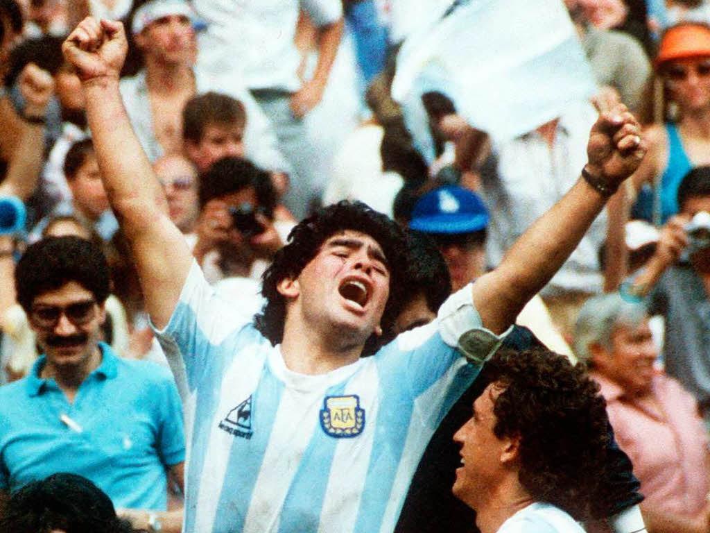 Fudbalske legende Diego+Maradona