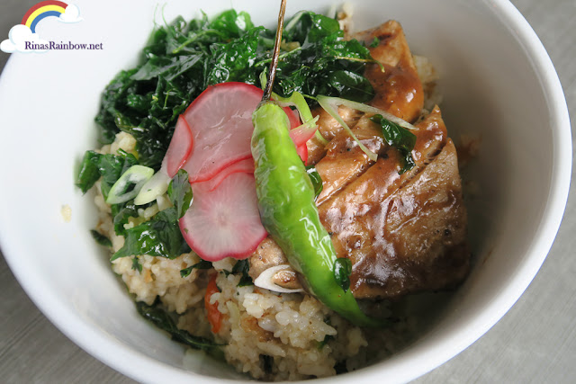 Miso Salmon and Sinigang Rice