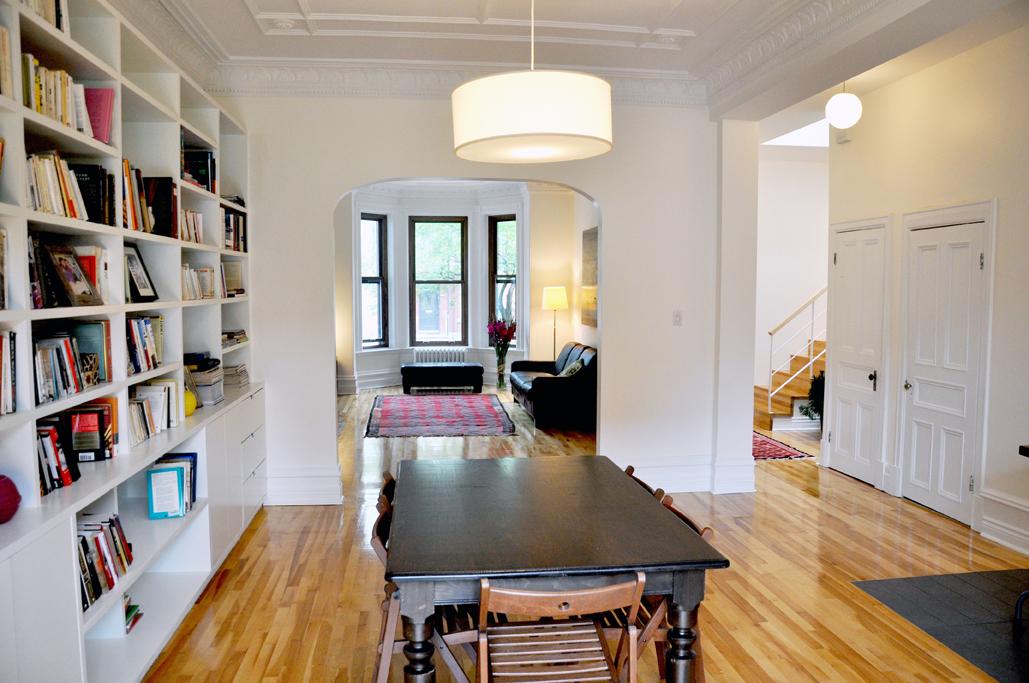 Bip de maison jeanne mance un duplex transform en cottage for Salle a manger yannick one cap