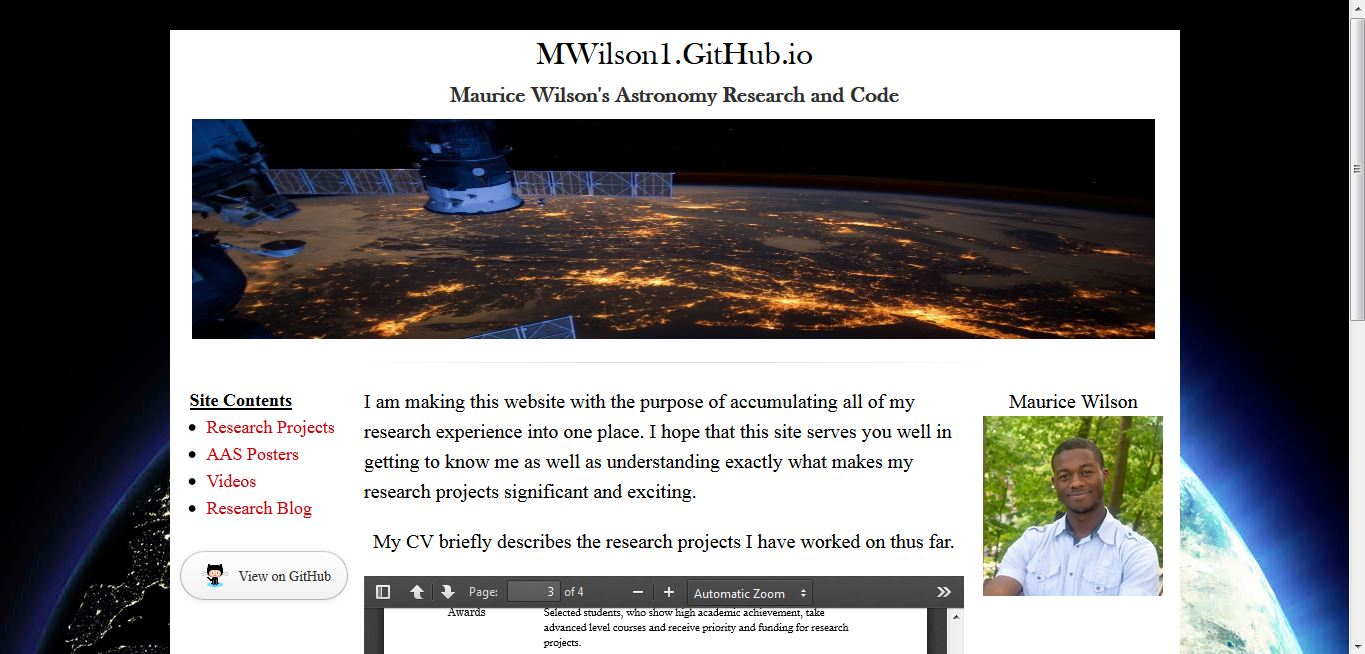wilson inspired seeing this website come to fruition is like a small dream come true for me this started as a simple idea and at the start i only knew a couple html