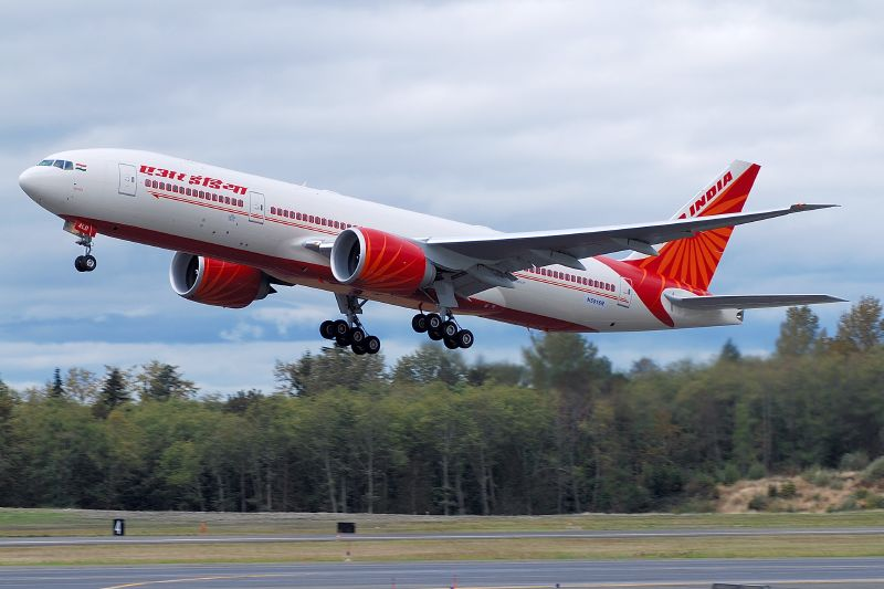 Download this Aircraft Air India picture