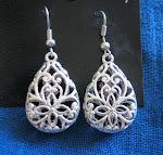 Tibetan Silver Earring
