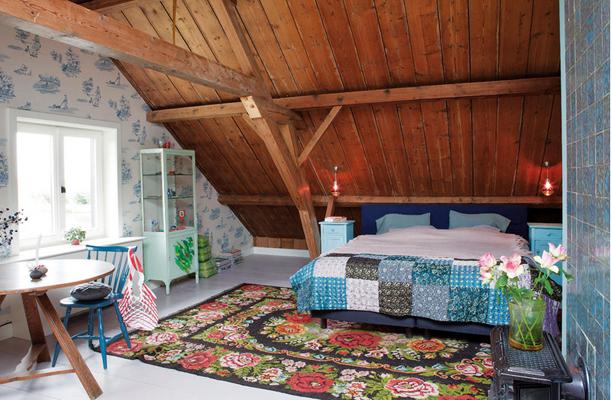 Color y estilo en una granja del s xix tr s studio for Casa de estilo campestre