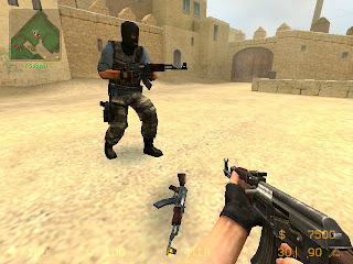 Point Blank AK47 VGUI for Counter Strike: Source