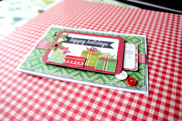 Christmas card by your own hands, American style.