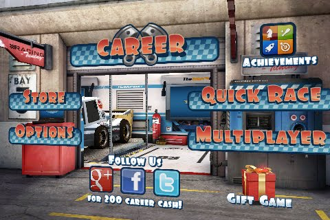 Mini Motor Racing Free App Game By The Binary Mill