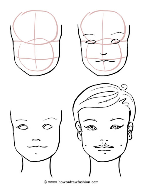 How to draw fashion how to draw the face eyes nose and lips how to draw the face eyes nose and lips ccuart Choice Image