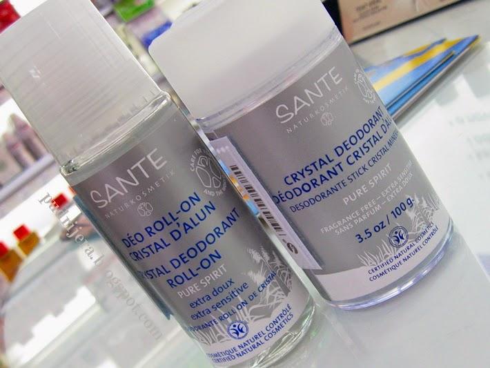 Sante Crystal Deodorant Pure Spirit