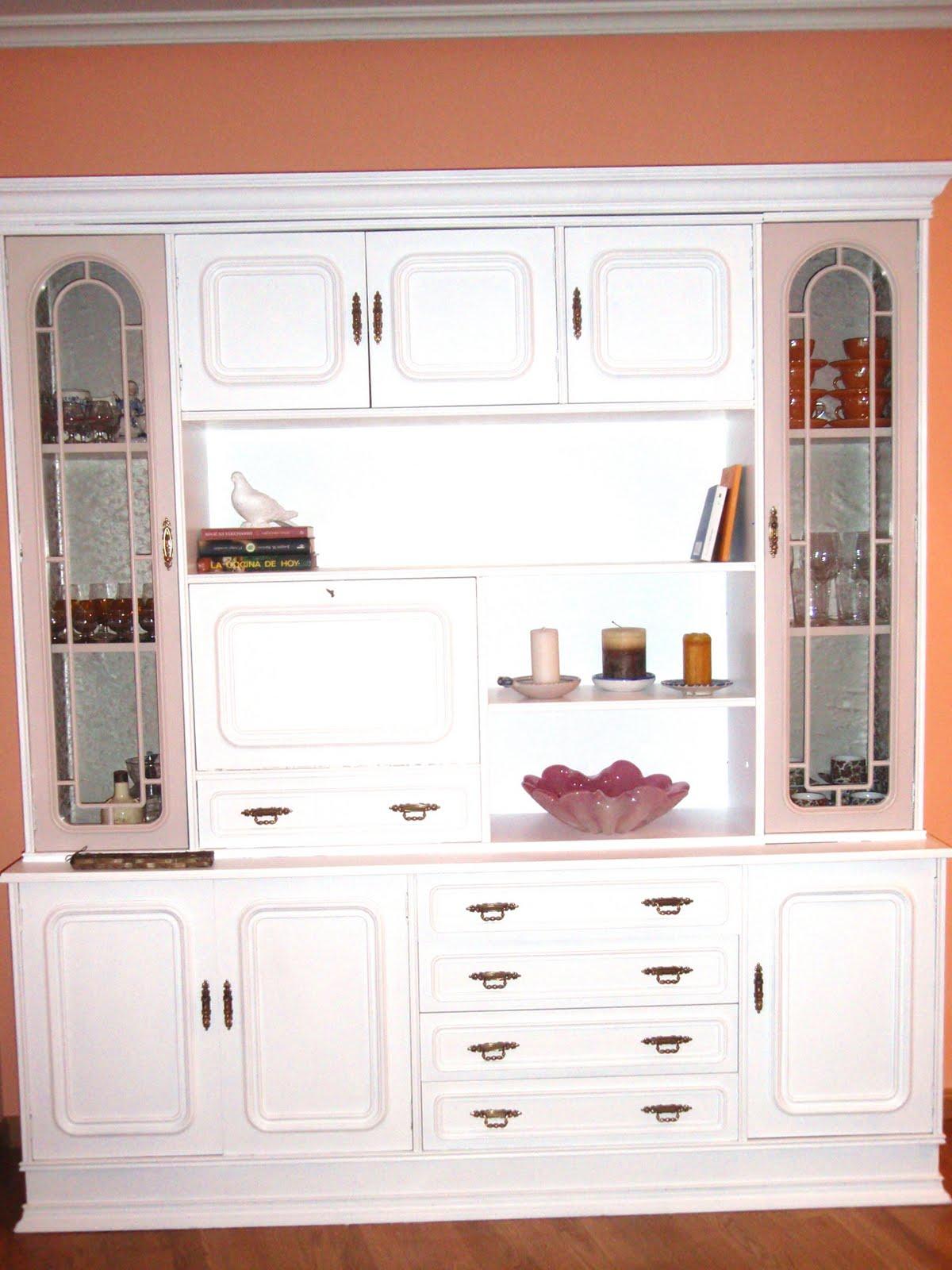 Naifandtastic decoraci n craft hecho a mano - Muebles pintados en blanco ...