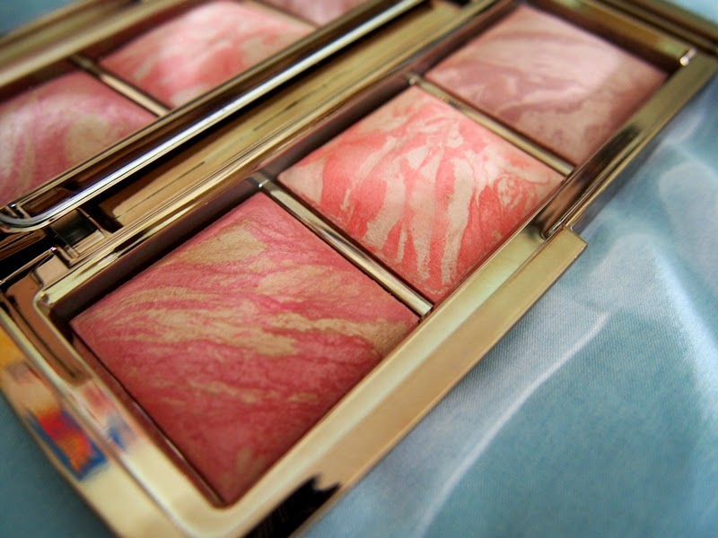 hourglass ambient lighting blushes in luminous flush and incandescent electra