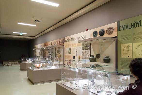 değişik kazılarda elde edilenler, Hatay arkeoloji müzesi