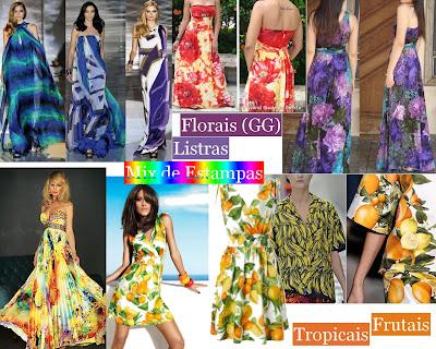 Listras diferentes, florais gigantes, tropicais, frutais e etc.