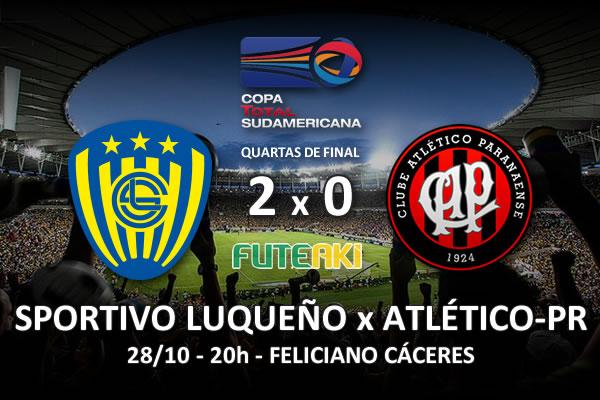 Veja o resumo da partida com os gols e os melhores momentos de Sportivo Luqueño 2x0 Atlético-PR pelas quartas de final da Copa Sul-Americana 2015.
