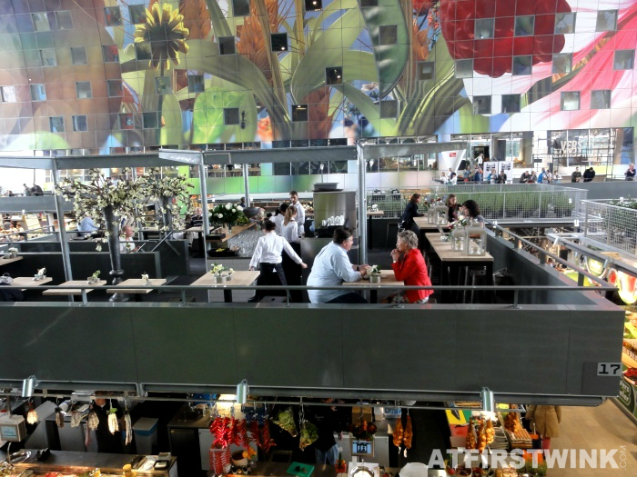Markthal in rotterdam for Fellini rotterdam