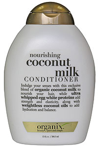 Organix coconut conditioner
