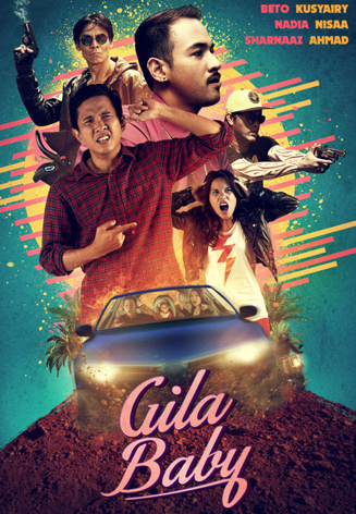 Filem Gila Baby (2014) - Full Movie