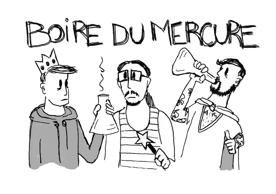 Boire du mercure