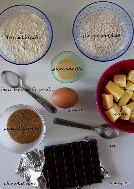 Ingrédients - Granola fait maison