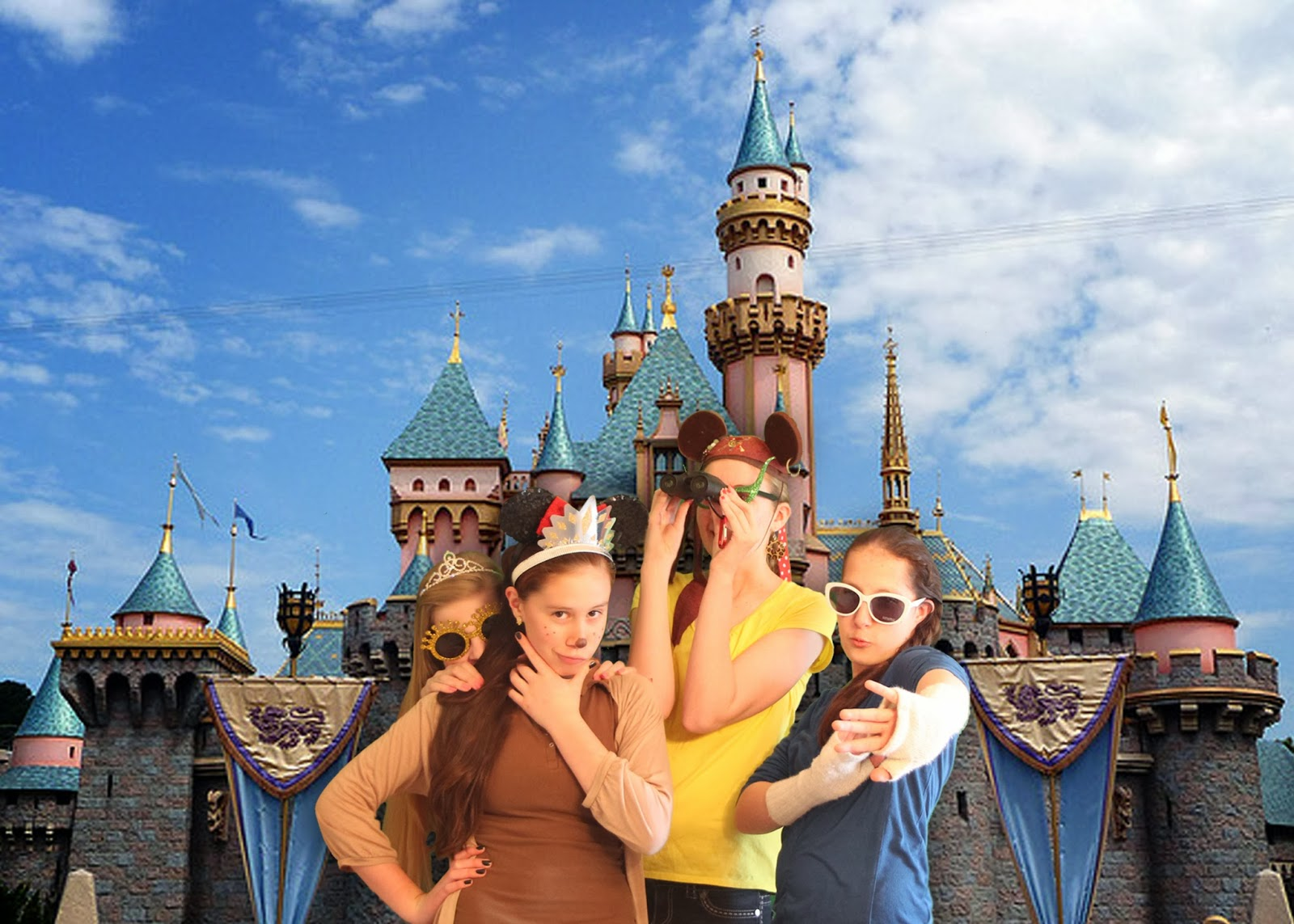 Throw a Disneyland themed party! Love the green screen photo booth to bring in the castle. LoveOurDisney.com