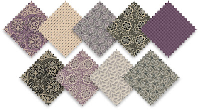 Downton Abbey Fabrics: The Dowager Collection