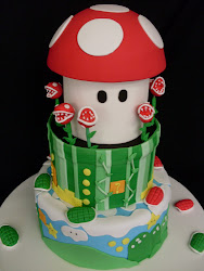 Intermediate 15 Super Mario Cake Class.