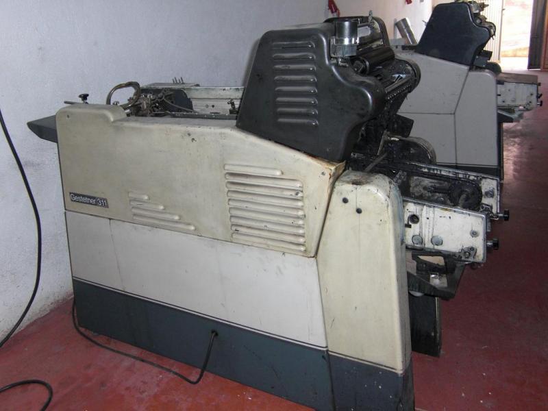 sell offset printing machine