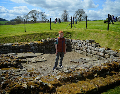 Roman Cavalry Fort at Chesters on Hadrians Wall