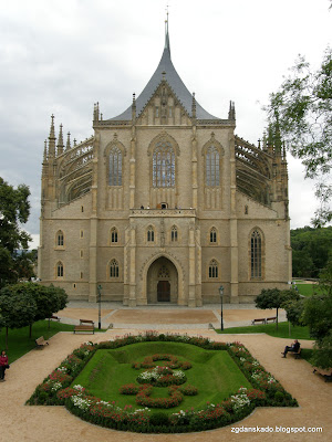 Kutná Hora - Kościół św. Barbary