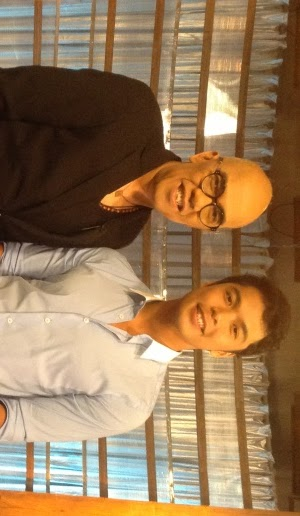 The Bottomline host Boy Abunda with CamSur Governor-elect Migz Villafuerte, the youngest governor in Philippine history