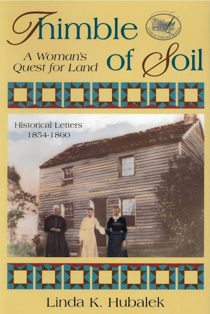 Thimble of Soil, 2nd book in Trail of Thread series by Linda K. Hubalek