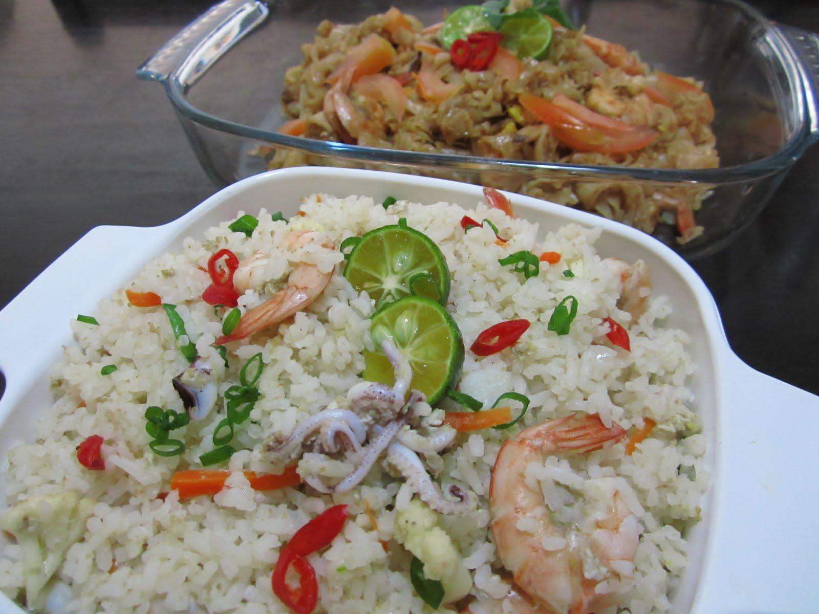 Taste Buds...: Nasi Goreng Seafood....