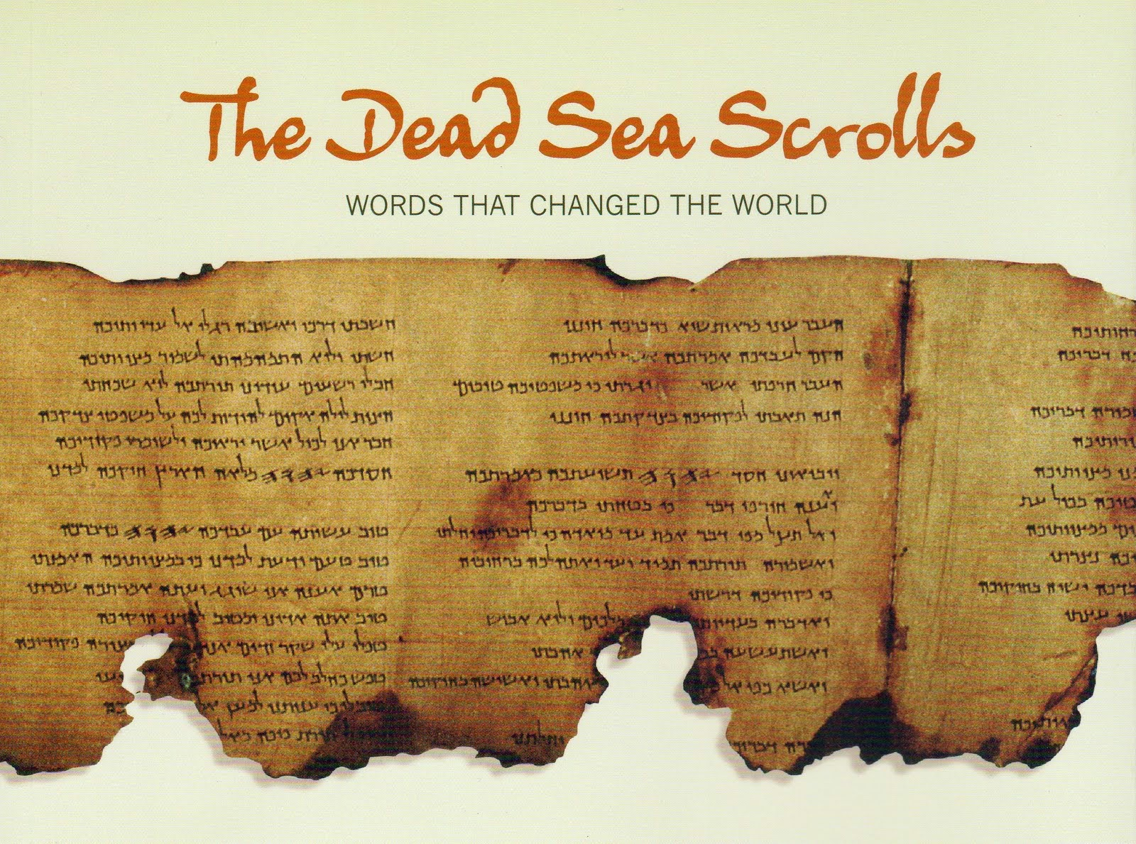 The Dead Sea Scrolls Brought Back to Life