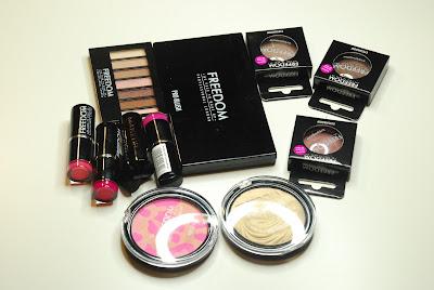 Freedom Makeup London - przegląd nowości + swatche.