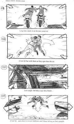 Storyboard - Mission Impossible II - Duel - 2