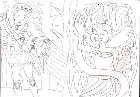 Mylery pendientes par con motivo hechizo no Hand Drawn plata diferentes más