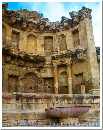 The Nymphaeum; Jerash; Jordan