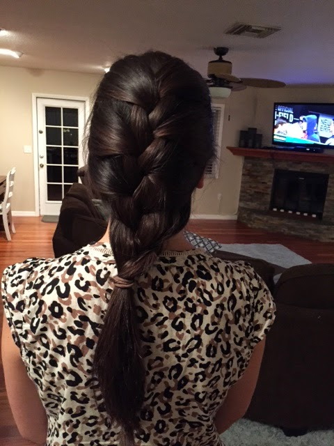 First Attempt At French Braiding