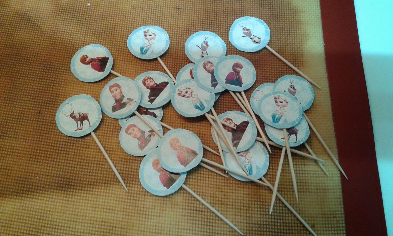 Cupcakes tenerife cumplea os de frozen iii - Cupcakes tenerife ...