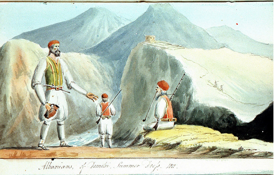 Albanians(Chimara-Χειμάρα)