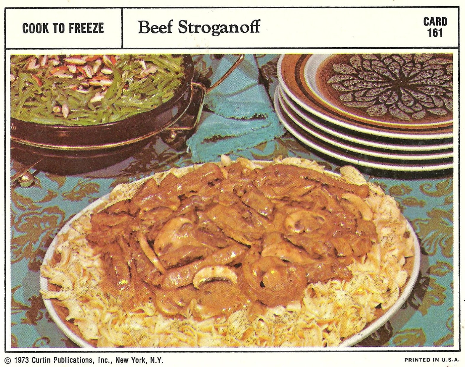 Bad and ugly of retro food 1970s finest recipe cards 17 i have yet to find a beef stroganoff that does not resemble some sort of vomit from either a cat dog human this omnipresent splatter does not disappoint forumfinder Gallery