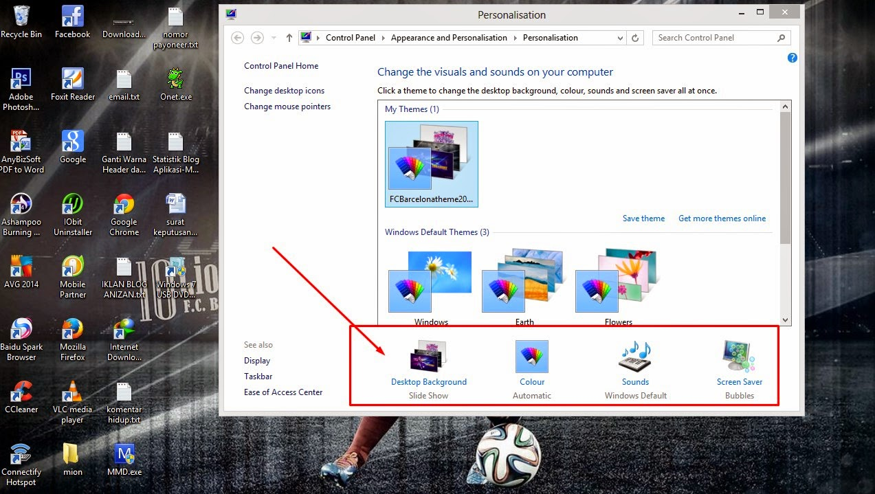 Cara Membuat Tema Windows 8