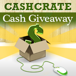 CashCrate Cash Giveaway logo
