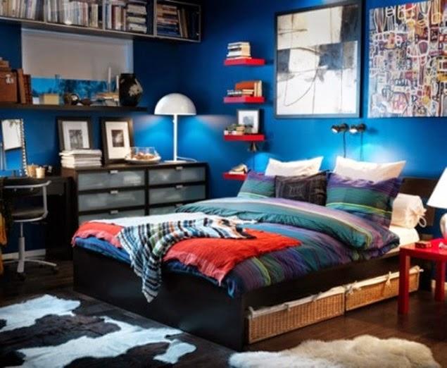 kamar tidur anak laki laki mewah