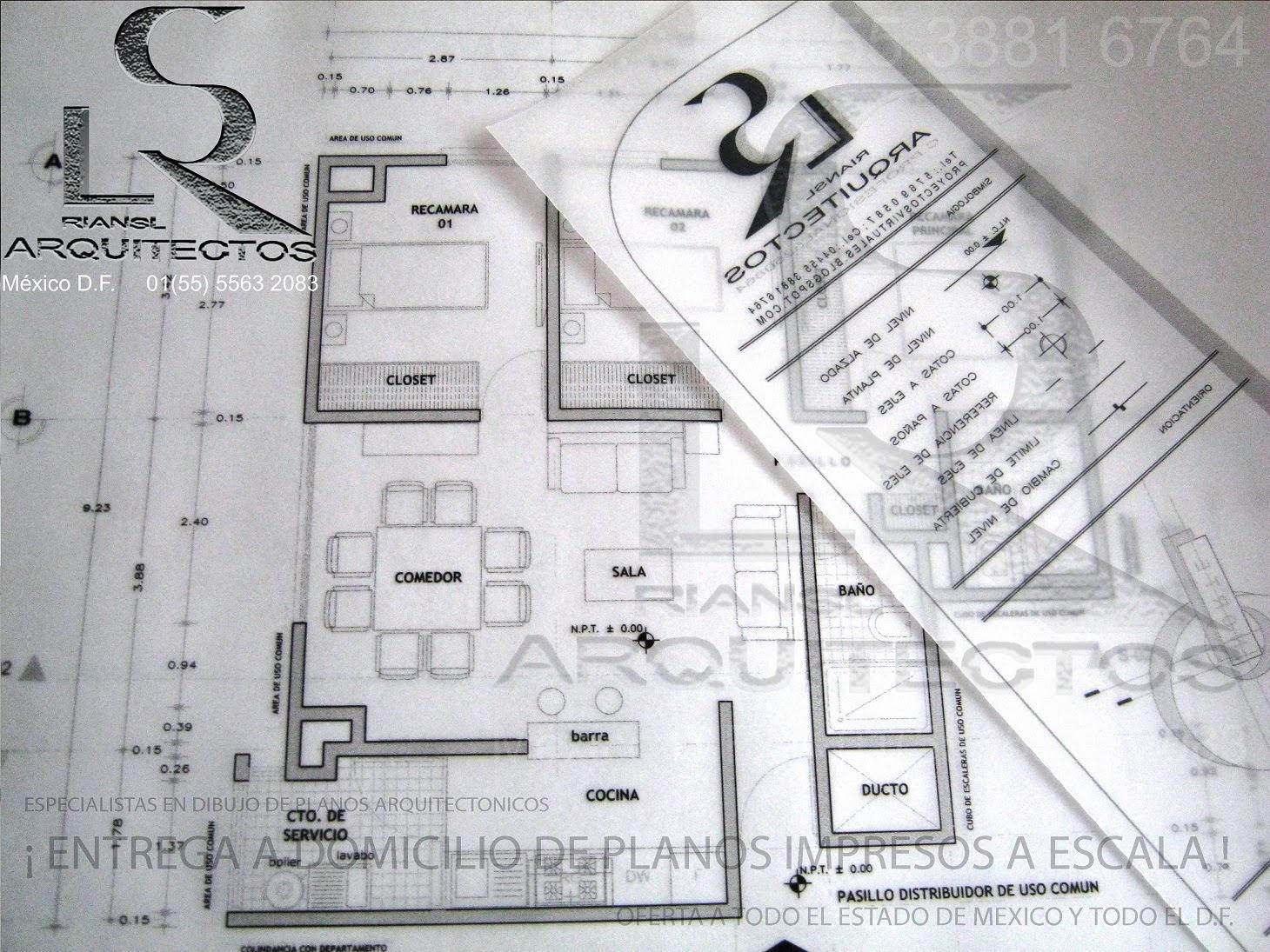 Especialistas en dibujo de planos arquitectonicos de casa for Pie de plano arquitectonico