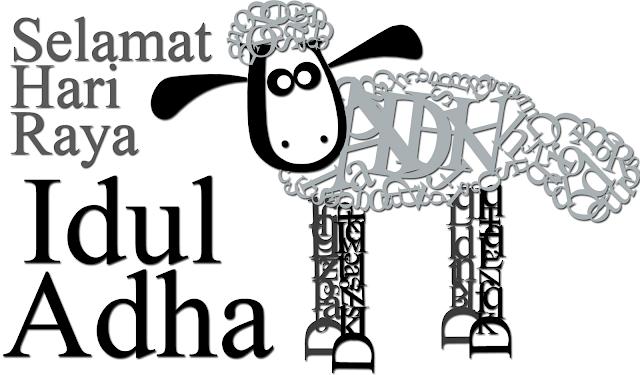 Idul Adha Typography by Rudy Arra