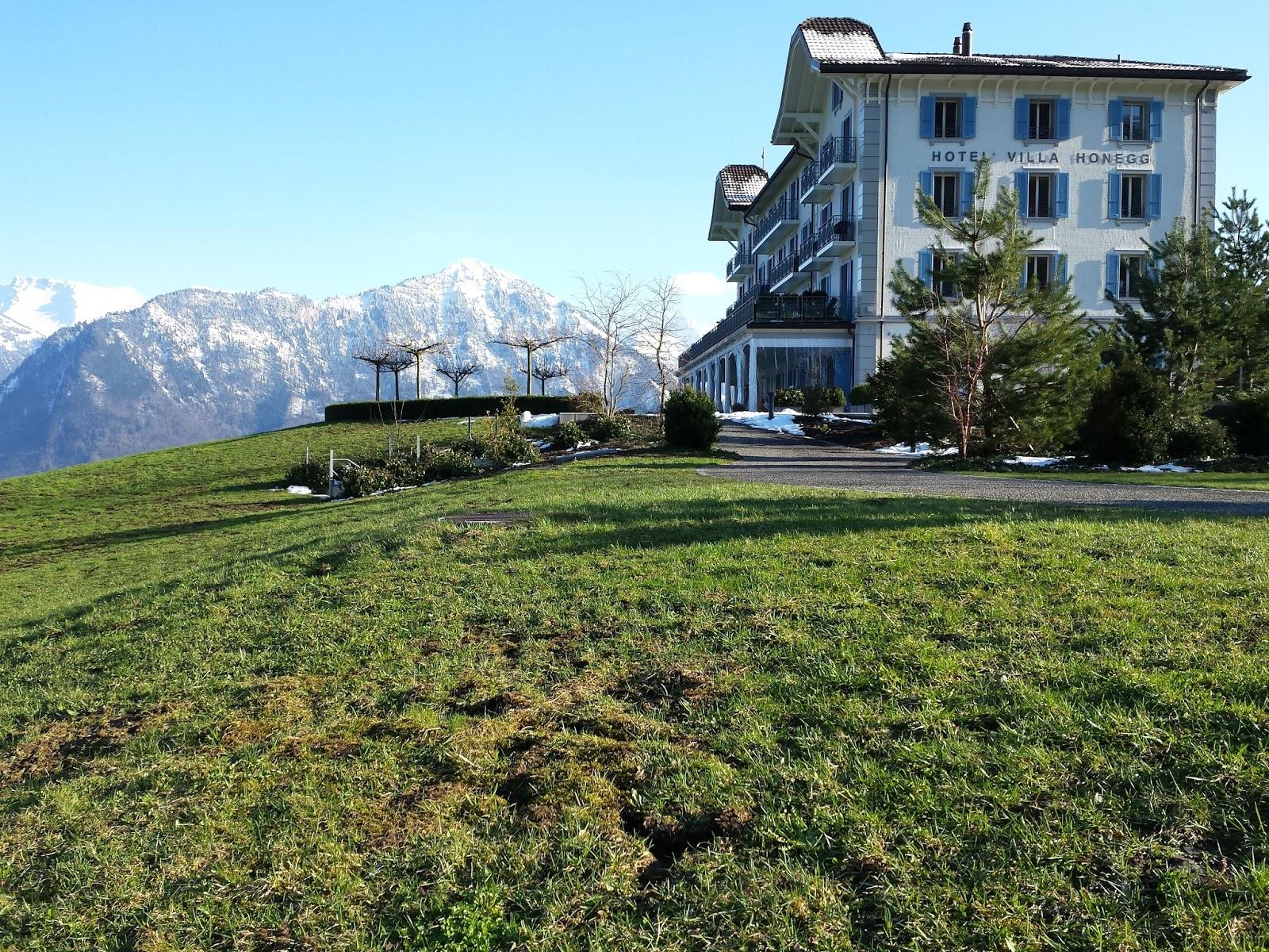 Hotel Villa Honegg tout menu viagem: hotel villa honegg: o melhor da suíça